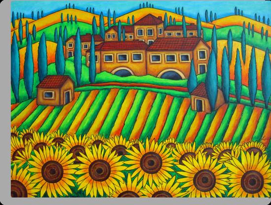 Colours of Tuscany by LisaLorenz