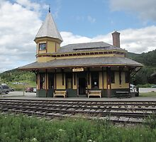 Crawford Notch Depot by maxy
