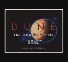Dune Genesis Megadrive Sega Start menu screenshot by ruter