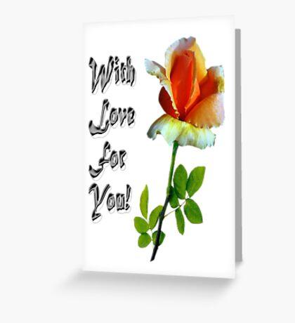 Роза Greeting Card