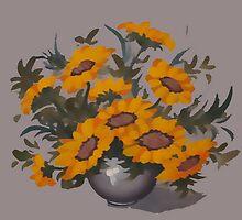Sunflowers  by OlaG