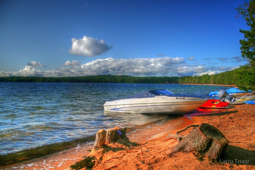Blue Lake, Ontario, Canada by Larry Trupp