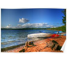 Blue Lake, Ontario, Canada Poster