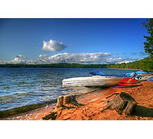 Blue Lake, Ontario, Canada Photographic Print