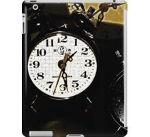 Running Out Of Time !? iPad Case/Skin