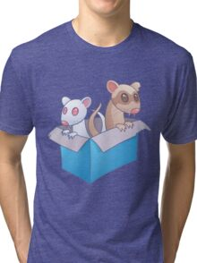 Ferrets In A Box Tri-blend T-Shirt
