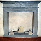 A Tuscan Fireplace by Fara