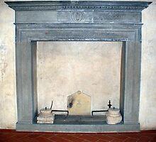A Tuscan Fireplace by Fara