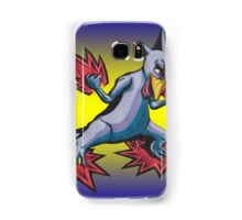 Psychic Attack Golduck  Samsung Galaxy Case/Skin