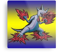 Psychic Attack Golduck  Metal Print