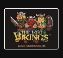 Lost Vikings Genesis Megadrive Sega Start menu screenshot by ruter