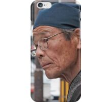 Outdoor Sushi Chef iPhone Case/Skin