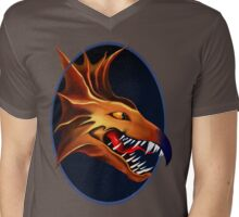 Dragon of the ages. Creates from fire in the beginning. Mens V-Neck T-Shirt