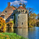 Scotney Castle, Kent, England by Bob Culshaw