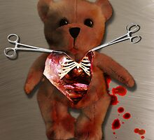 The Autopsy of T. Bear by mdkgraphics