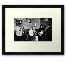 Delta Noise Framed Print