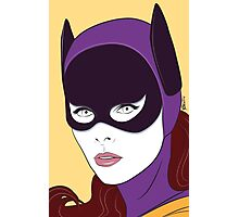 60s Bat Girl - Nagel Style Photographic Print