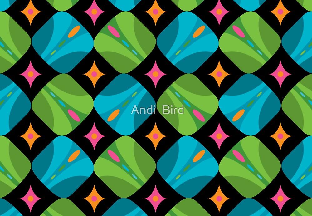 Kaleidoscope card by Andi Bird