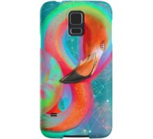 Color Outside the Lines (Neon Flamingo Remix) Samsung Galaxy Case/Skin