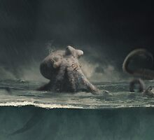 Kraken... by DarkIndigo