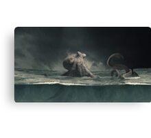 Kraken... Canvas Print