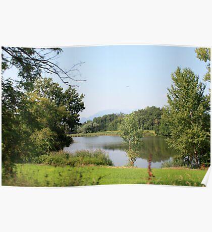 The small lakes of Sovenigo  Poster
