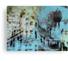 Urban Architecture Abstract Canvas Print