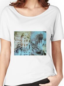 Urban Architecture Abstract Women's Relaxed Fit T-Shirt
