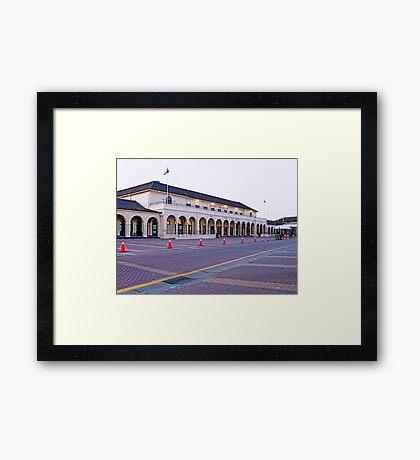 The emblematic Pavilion in Bondi Beach Framed Print