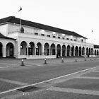 The emblematic Pavilion in Bondi Beach in B&W by TheSpaniard