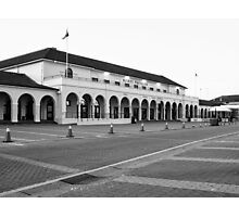 The emblematic Pavilion in Bondi Beach in B&W Photographic Print