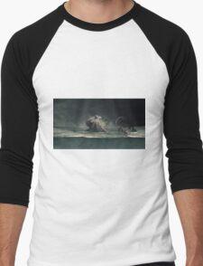 Kraken... Men's Baseball ¾ T-Shirt