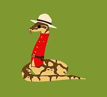 Mountie Python by Izabel