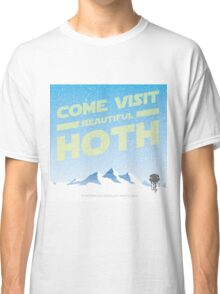 Hoth travel poster Classic T-Shirt