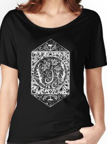 Autumn Abstract Tee Women's Relaxed Fit T-Shirt