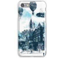 strange town iPhone Case/Skin