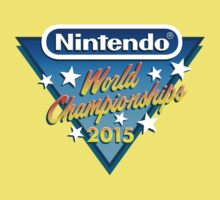 Nintendo World Championships 2015 Logo One Piece - Short Sleeve