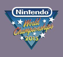 Nintendo World Championships 2015 Logo Kids Clothes