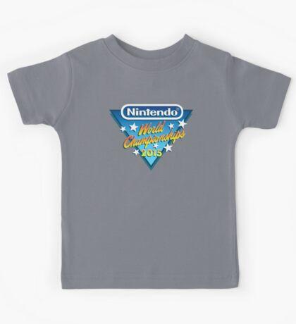 Nintendo World Championships 2015 Logo Kids Tee