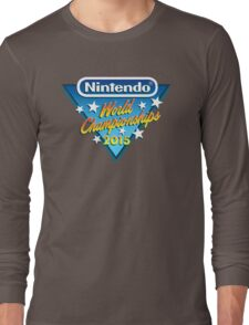 Nintendo World Championships 2015 Logo Long Sleeve T-Shirt