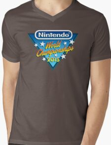 Nintendo World Championships 2015 Logo Mens V-Neck T-Shirt