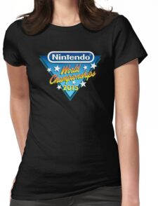 Nintendo World Championships 2015 Logo Womens Fitted T-Shirt