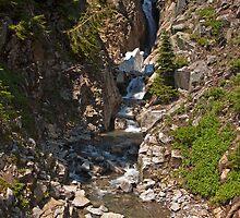 Myrtle Falls, Mt. Rainier National Park by Barb White