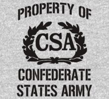 Property of Confederate States Army T-Shirt