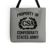 Property of Confederate States Army Tote Bag