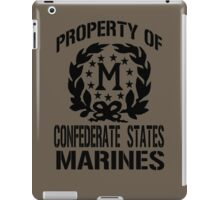 Property Confederate States Marines iPad Case/Skin