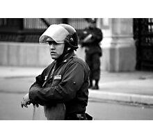 Peruano Police Photographic Print