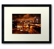 HEAT OF THE NIGHT  Framed Print