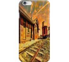 1880 Town iPhone Case/Skin
