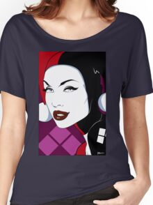 Harley - Nagel Style Women's Relaxed Fit T-Shirt